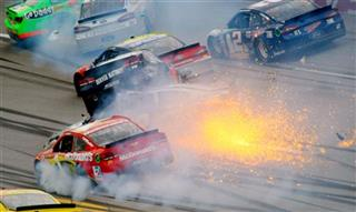APTOPIX NASCAR Talladega Auto Racing