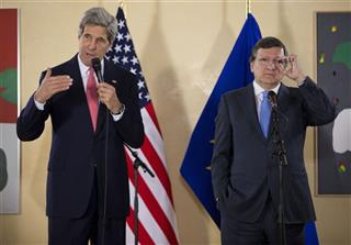 John Kerry, Jose Manuel Barroso