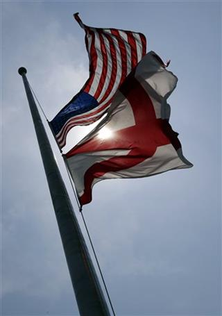 Boston Marathon Alabama Flags