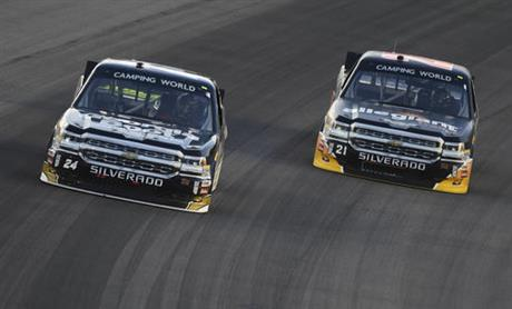 NASCAR Kansas TRUCKS Auto Racing