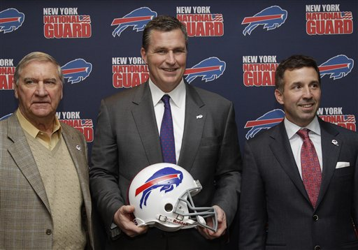 Doug Marrone, Buddy Nix, Russ Brandon