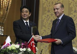 Shinzo Abe, Recep Tayyip Erdogan