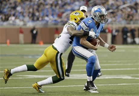 Morgan Burnett, Matthew Stafford