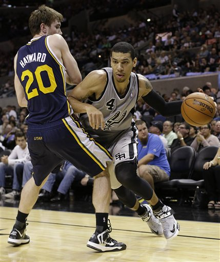 Gordon Hayward, Danny Green