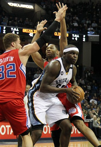 Zach Randolph, Willie Green, Zach Randolph
