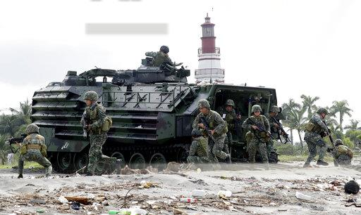 Philippines Military Drill South China Sea