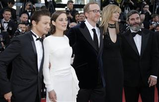 James Gray, Marion Cotillard, Jeremy Renner, Anthony Katagas, Ali Gray