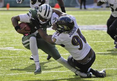 APTOPIX Ravens Jets Football