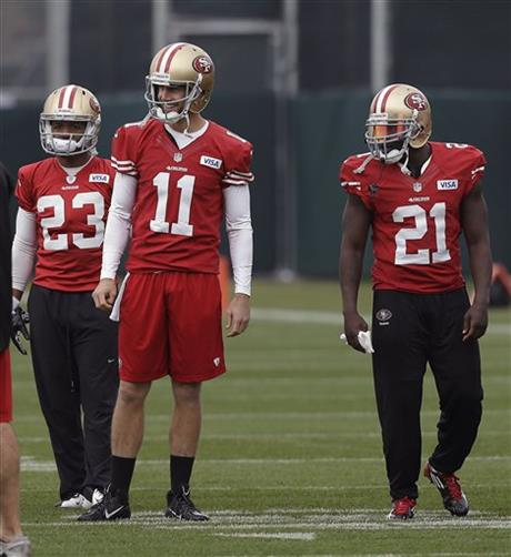 LaMichael James, Alex Smith, Frank Gore