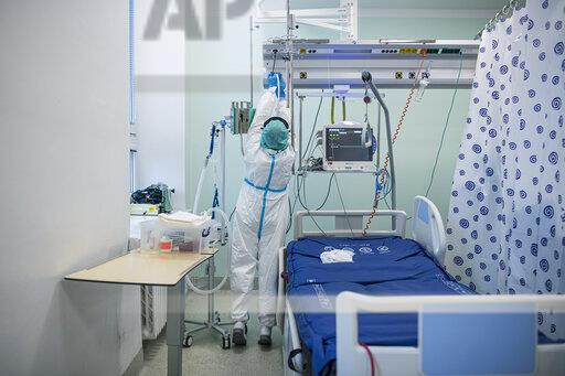 Intensive care unit (ICU) for patients with COVID-19 disease, Liberec Regional Hospital