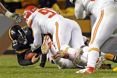 Ben Roethlisberger, Tamba Hali