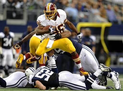 Alfred Morris, Jason Hatcher, Dan Connor