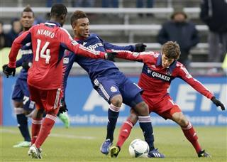 Juan Agudelo, Patrick Nyarko, Wells Thompson