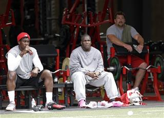 Aldon Smith, Frank Gore, Justin Smith