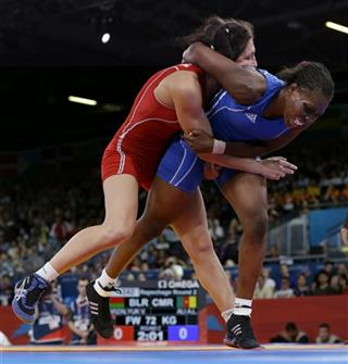 London Olympics Wrestling Women