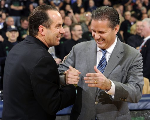 Mike Brey,John Calipari