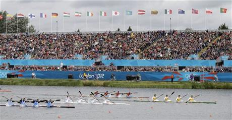 London Olympics Canoe Sprint Men