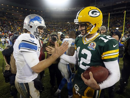 Matthew Stafford, Aaron Rodgers