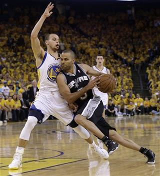 Tony Parker, Stephen Curry