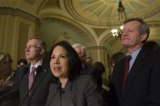 Nancy Ann DeParle, Harry Reid, Christopher Dodd, Max Baucus