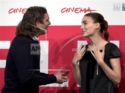 Italy Rome Film Festival Her Photo