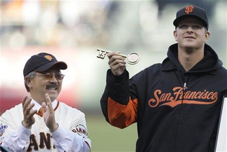 Matt Cain, Ed Lee