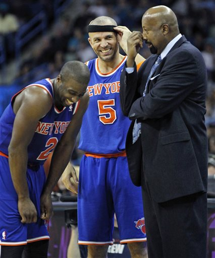 Mike Woodson, Jason Kidd, Raymond Felton