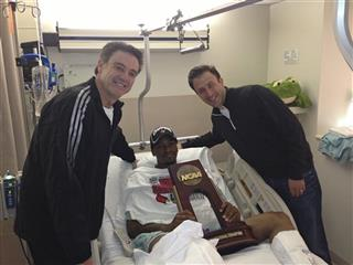 Rick Patino, Kevin Ware ,Richard Pitino