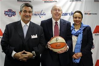 Ted Leonsis, Mike Thibault, Sheila Johnson