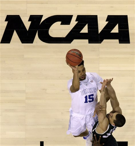 NCAA Michigan St Duke Final Four Basketball