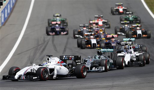 GP da Austria de Formula 1, Spielberg em 2014 - by Auto Racing - Associated Press