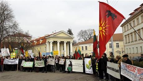 Lithuania Protest