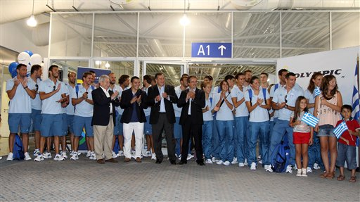 Greece Olympic Team