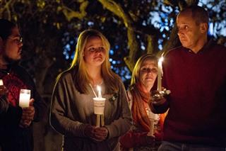 School Shooting Vigil