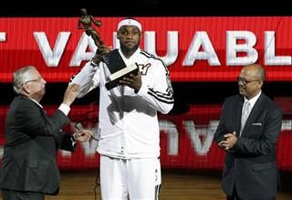 LeBron James, Percy Vaughn, David Stern, most valuable player