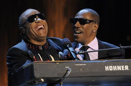 Eddie Murphy, Stevie Wonder