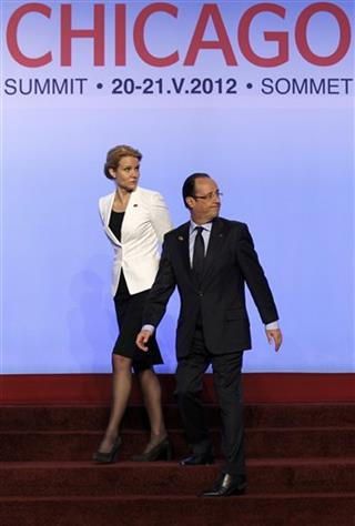 Francois Hollande,  Helle Thorning-Schmidt