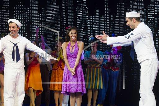 "APTOPIX Misty Copeland's Broadway Debut in ""On The Town"""