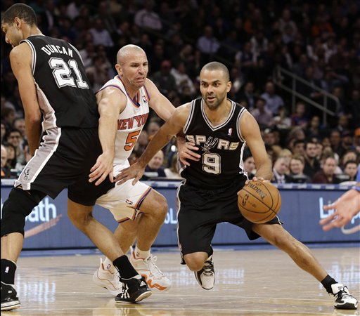 Jason Kidd, Tim Duncan, Tony Parker