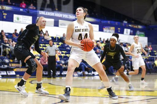 COLLEGE BASKETBALL: FEB 26 Women's Akron at Kent State