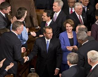 John Boehner, Eric Cantor, Nancy Pelosi, Kevin McCarthy, Steny Hoyer