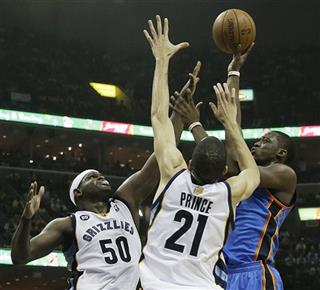 Thunder Grizzlies Basketball
