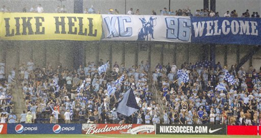 Sounders Sporting KC Soccer