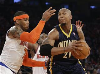 Carmelo Anthony, David West
