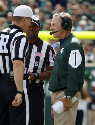 Mark Dantonio, Alan Eck, A Flemming
