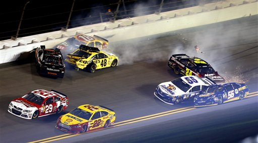 Kevin Harvick, Denny Hamlin, Jimmie Johnson, Kyle Busch, Jeff Gordon, Mark Martin, Martin Truex Jr.