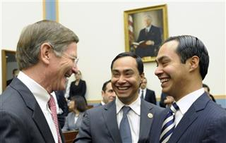 Julian Castro, Joaquin Castro, Lamar Smith