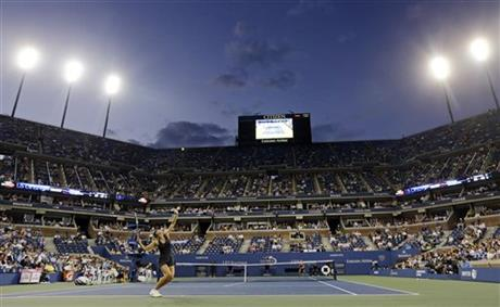 APTOPIX US Open Tennis