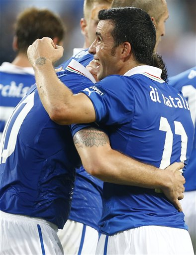 Soccer Euro 2012 Italy Ireland