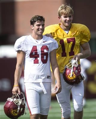 USC Blind Long Snapper Football